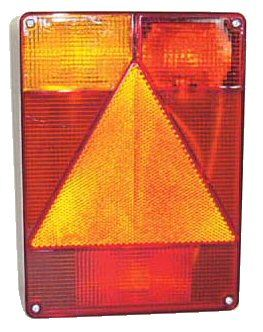 Trailer Light - 5 way Vertical Lamp: Nearside