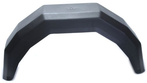 "Trailer Mudguard - Plastic: 13"" - 220 x 750mm"